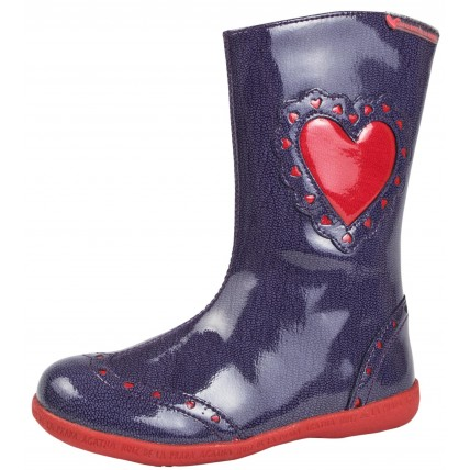 Agatha Ruiz De La Prada Girls Leather Boots