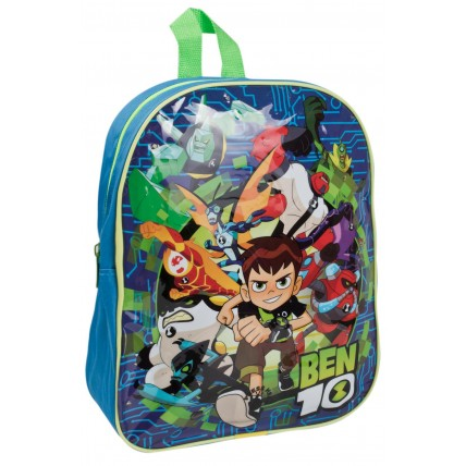 Ben 10 Boys Light Up Backpack  10 Character