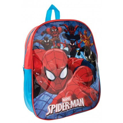 Spiderman Boys Backpack - Web Background