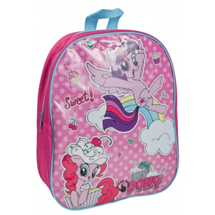 My Little Pony Girls Light Up Backpack - Pinkie Pie + Twilight Sparkle