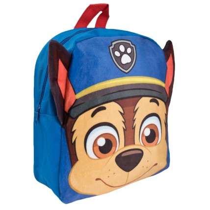 Paw Patrol Plush 3D Backpack - Chase