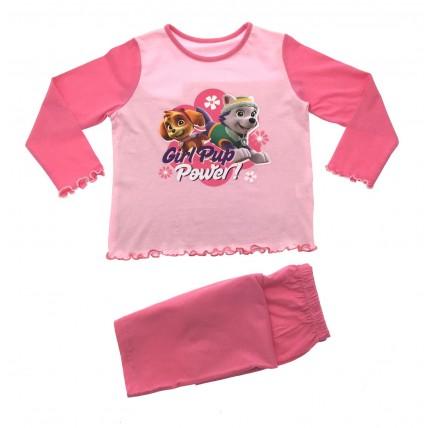Girls 100% Cotton Paw Patrol Pyjamas
