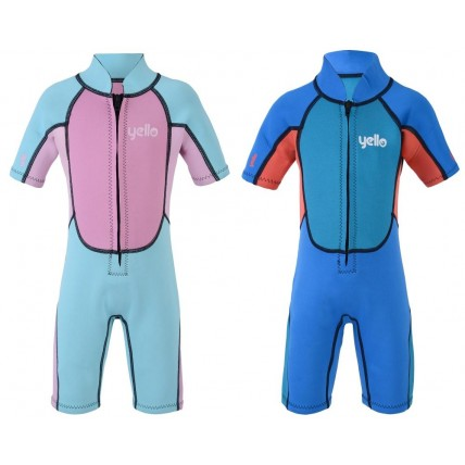 Yello Kids Neoprene Wetsuit - Shorty