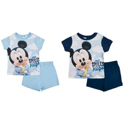 Mickey Mouse Baby Boys Short Pyjamas