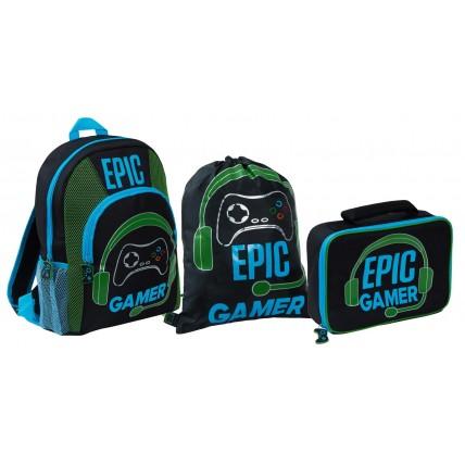 Boys Epic Gamer Lunch Bag