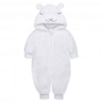 Baby Girls Fleece Animal All In One
