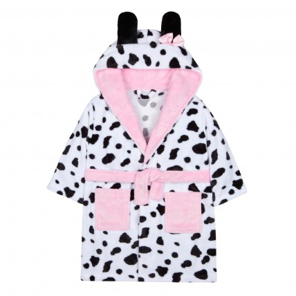 Girls Dressing Gown - Dalmatian