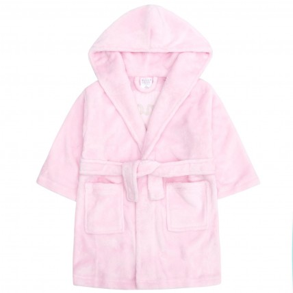 Girls Hooded Dressing Gown Princess Squad