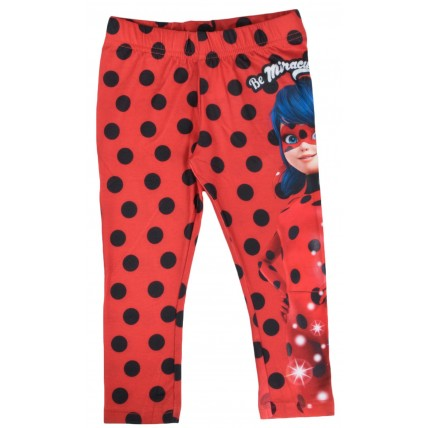 Girls Miraculous Ladybug Capri Leggings