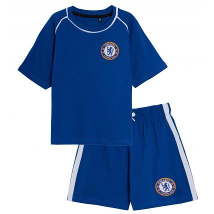 Chelsea FC Official Football Gift Boys Toddler Kids Pyjamas Blue
