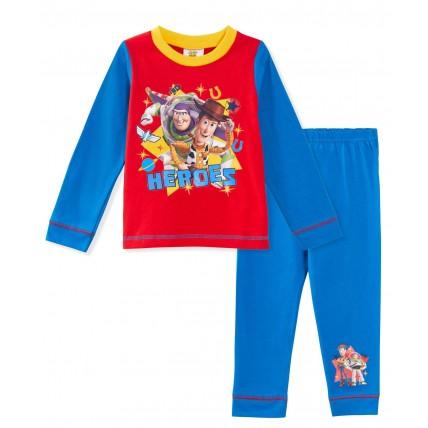 Boys Toy Story Long Pyjamas - Buzz, Woody Heroes