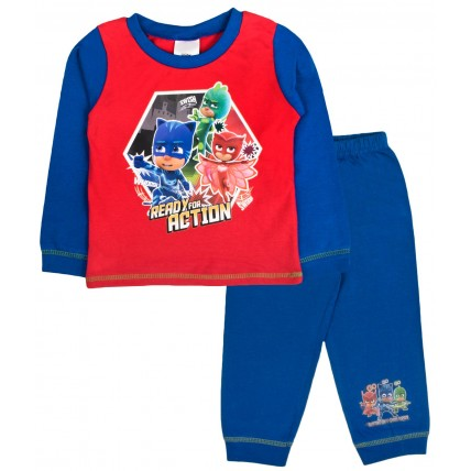 PJ Masks Long Pyjamas - Ready For Action