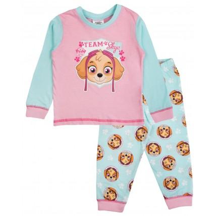 Baby Paw Patrol Long Pyjamas - Skye Aqua