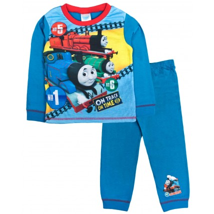 Thomas The Tank Engine Long Pyjamas - On Track