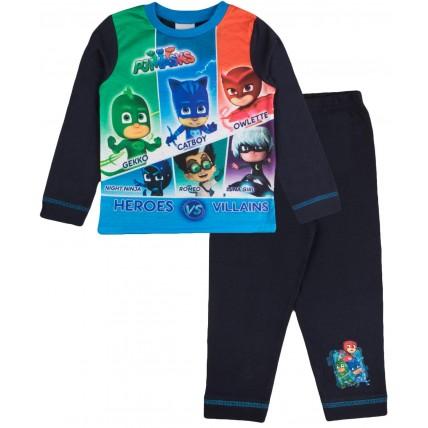 PJ Masks Long Pyjamas - Heroes Vs Villains