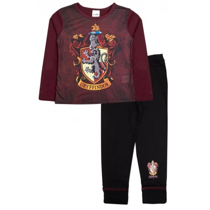 Harry Potter Long Pyjamas - Gryffindor