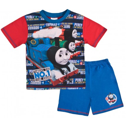 Thomas Short Pyjamas - Thomas The No 1 Engine