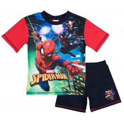 Marvel Spiderman Boys Long Pyjamas - 3 Character