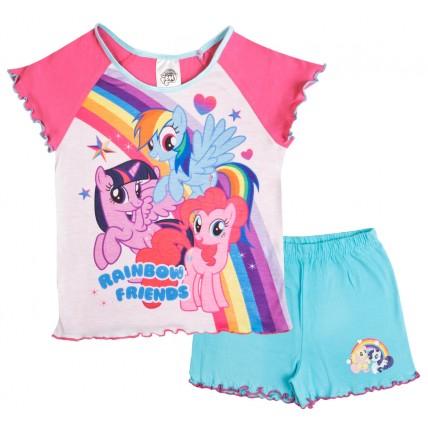 My Little Pony Short Pyjamas - Rainbow Friends