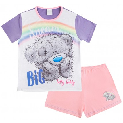 Tatty Teddy Me To You Girls Short Pyjamas - Dream Big