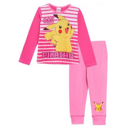 Pokemon Pikachu Long Pyjamas - Pink