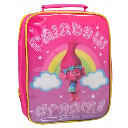 Trolls Girls Lunch Bag + Sandwich Box + Bottle Set
