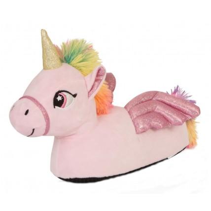 Girls Character Slippers - 3D Unicorn