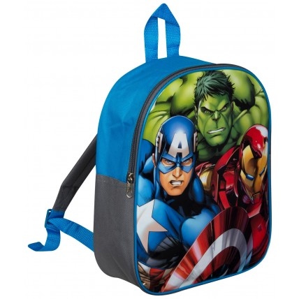 Marvel Avengers Boys Backpack - 3 Character