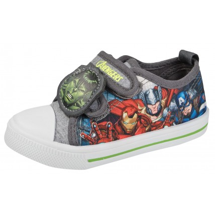 Marvel Avengers Canvas Pumps - Hulk Logo