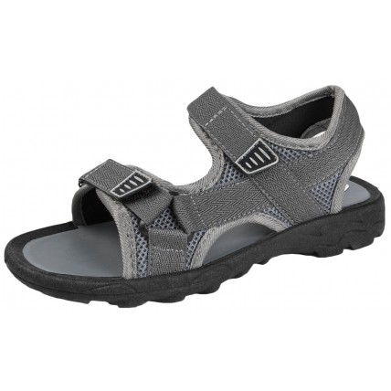 Boys Sports Sandals - Two Strap Grey