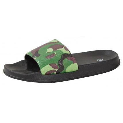 Boys Camoflage Flip Flops Sliders