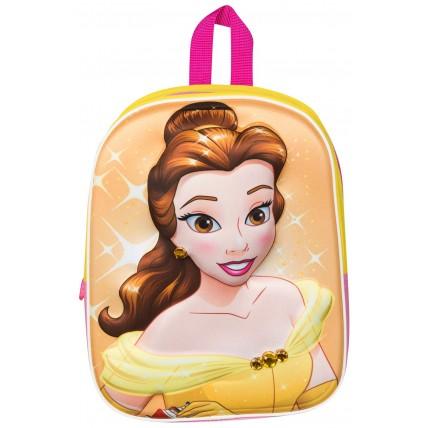 Girls Princess Belle 3D Backpack