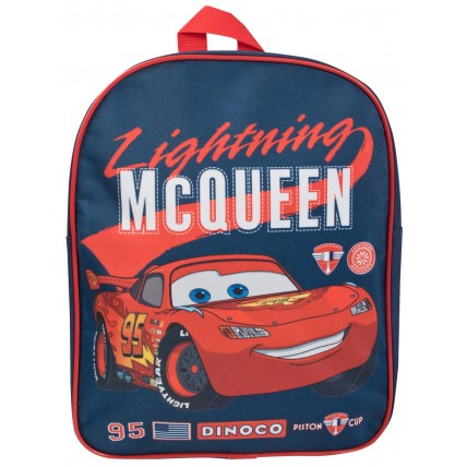 Boys Lightning McQueen Backpack - Blue / Red