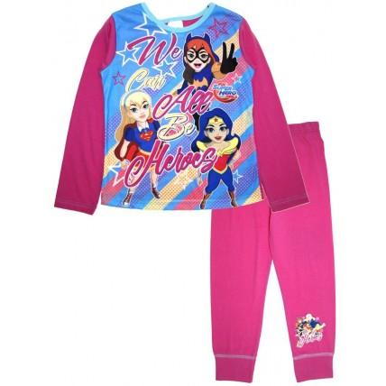 DC Super Hero Girls Long Pyjamas - We All Can Be Heros