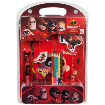 Disney Incredibles Stationery Set