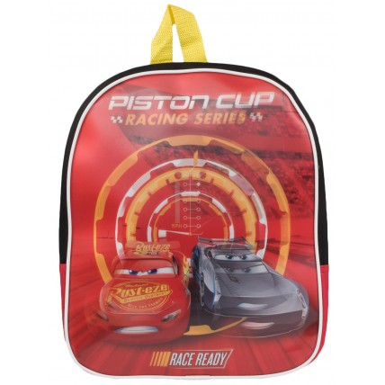 Boys Lightning McQueen Backpack - Red Holograpic