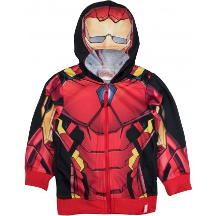 Marvel Avengers Hooded Jacket - Iron Man