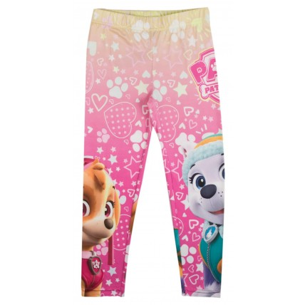 Paw Patrol Girls Leggings - Skye + Everest Rainbow