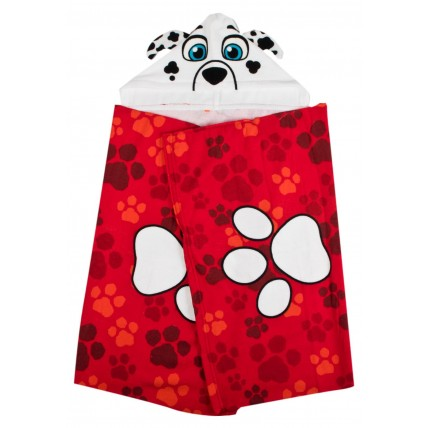 Paw Patrol Cuddle Towel - Marshall