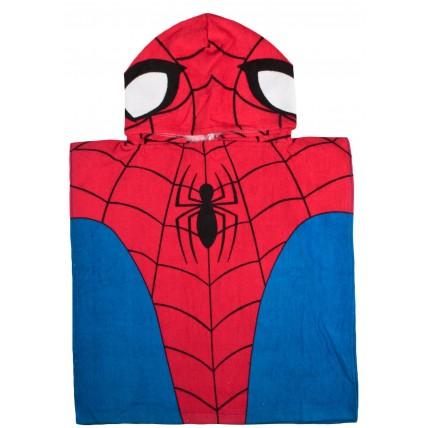 Spiderman Hooded Poncho Towel