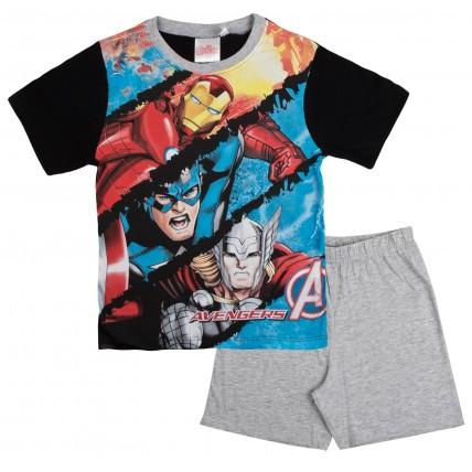 Marvel Avengers Boys Short Pyjamas
