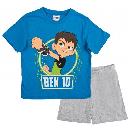 Ben 10 Short Pyjamas - Blue