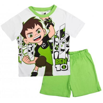 Ben 10 Short Pyjamas - Green