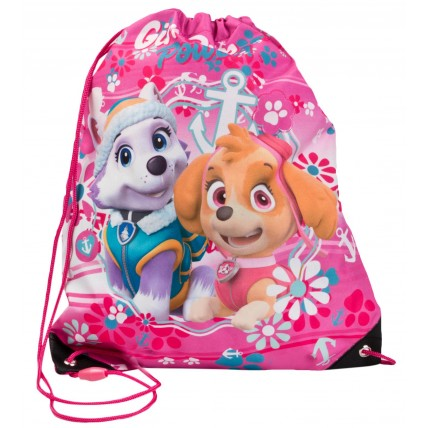Paw Patrol Drawstring Bag - Girl Pup Power