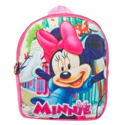 Disney Minnie Mouse Girls Plush Backpack - Minnie