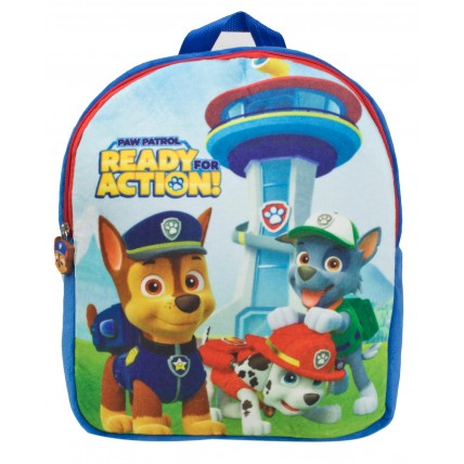 Paw Patrol Boys Plush Backpack  Team