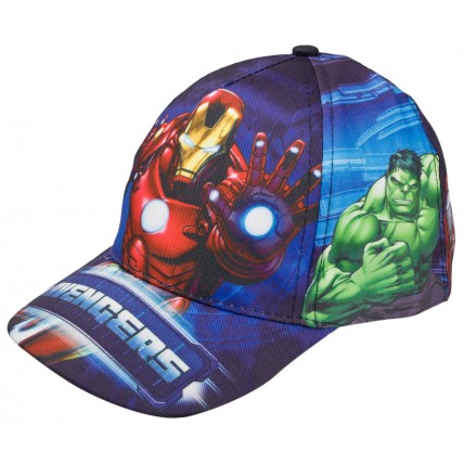 Marvel Avengers Printed Design Baseball Cap