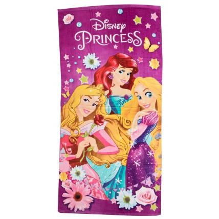 Disney Princess Beach Towel - Princess Flowers