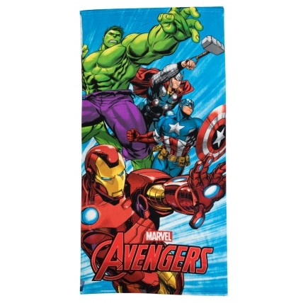 Marvel Avengers Beach Towel - 4 Character