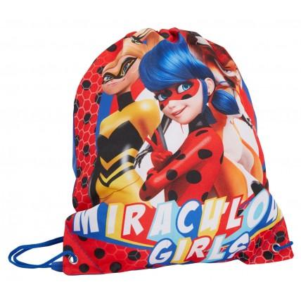 Girls Miraculous Gym Bag